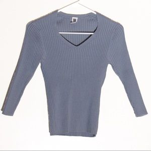 Gap Baby Blue Stretchy Sweater